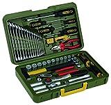 PROXXON Industrial 23650 Werkzeugkoffer 43tlg. 1,3 cm (0,5 Zoll) 4KT...