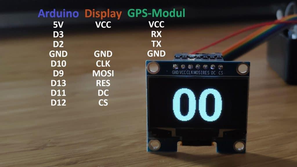 GPS Tacho Mofa selber bauen
