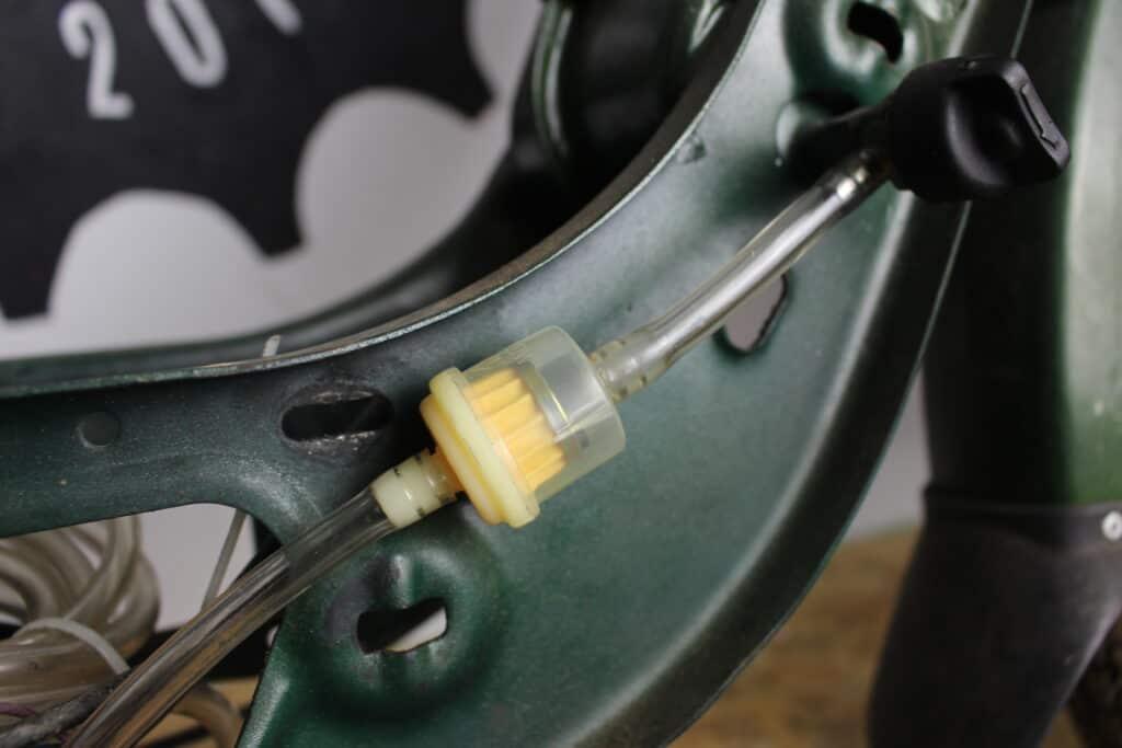 Benzinfilter am mofa