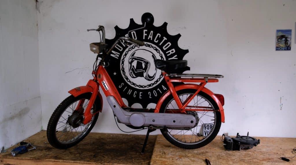 Piaggio Ciao Moped e zuendung