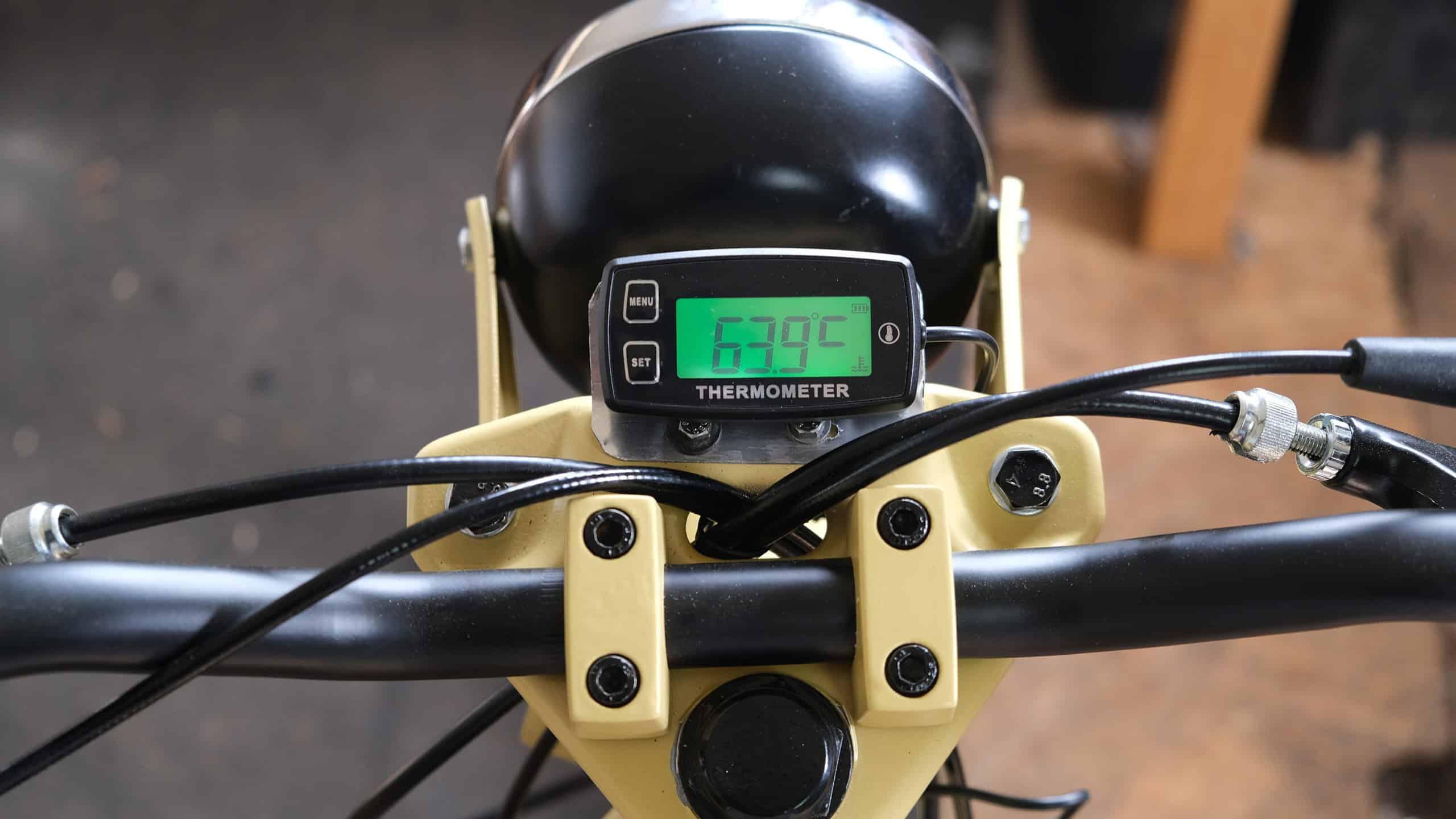 Temperatursensor Mofa Moped