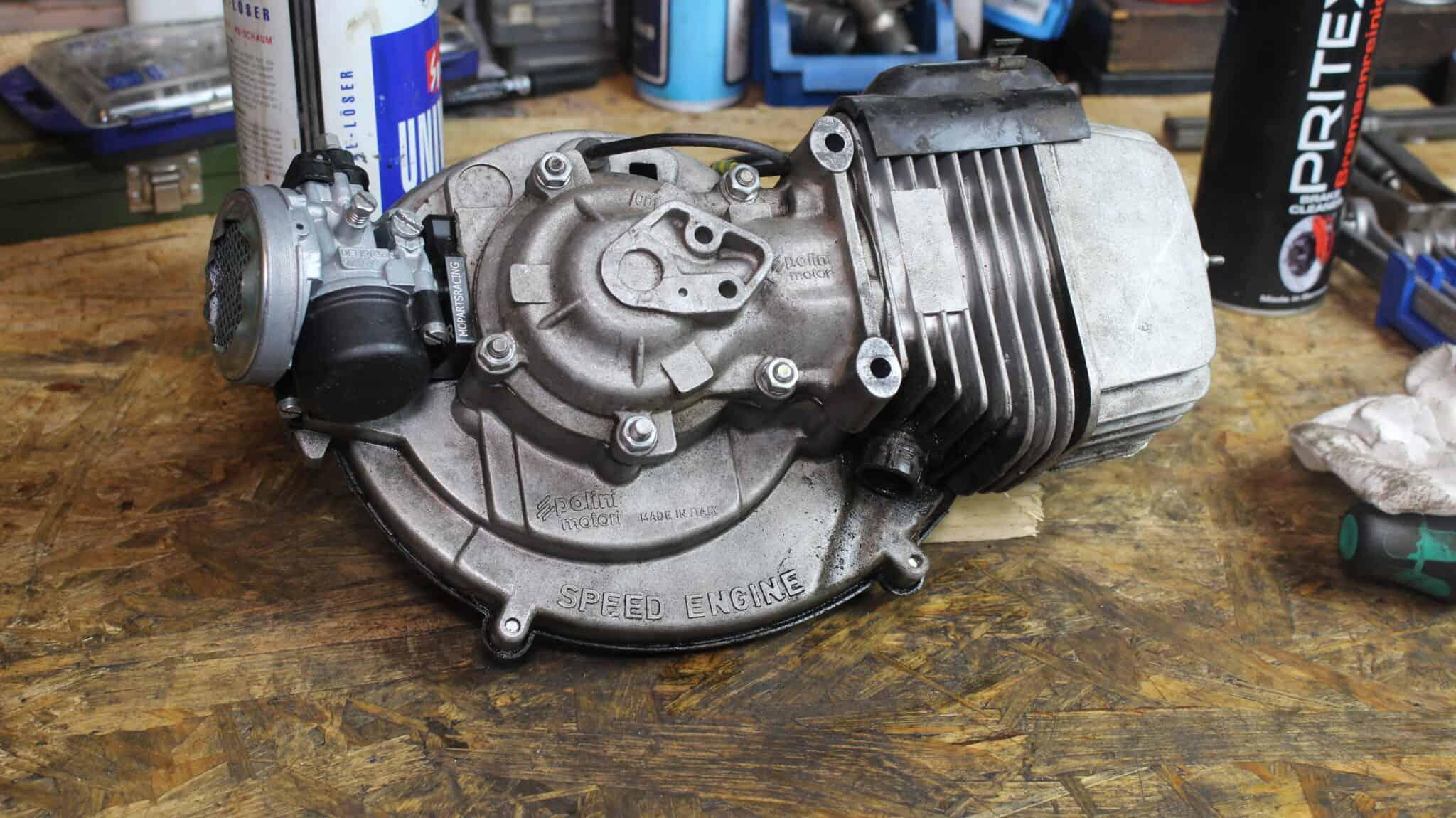 Polini Speed Engine Tuning Setup Piaggio Ciao